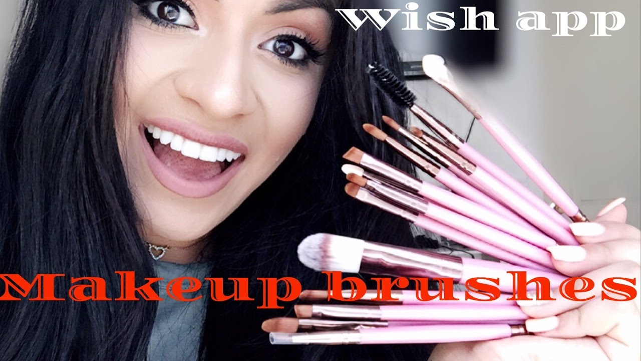 wish shopping site best affordable makeup brushes first impression youtube. Black Bedroom Furniture Sets. Home Design Ideas
