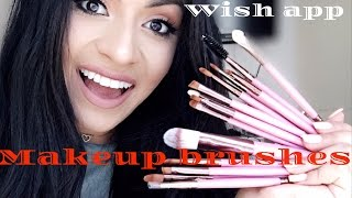 WISH SHOPPING SITE|BEST AFFORDABLE MAKEUP BRUSHES||FIRST IMPRESSION❤️