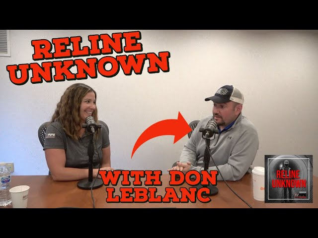 Reline Unknown with Don LeBlanc of DL VEWS