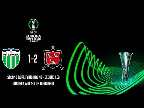 HIGHLIGHTS | Levadia Tallinn 1-2 Dundalk - UEFA Europa Conference League