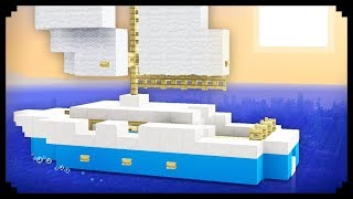✔ Minecraft: How to make a Sailboat