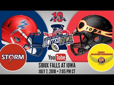 2018 United Bowl | Sioux Falls Storm at Iowa Barnstormers