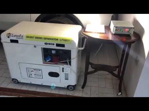 Generador diesel silencioso arranque y transferencia automatico thumbnail