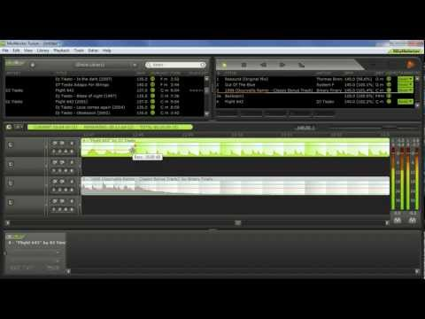 Mixmeister Fusion - demo of live performance (dual mode) PART 2/2