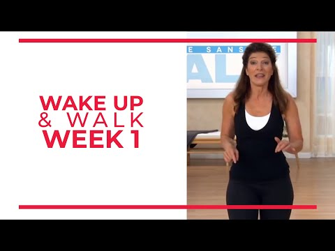 WAKE UP & Walk! Week 1 | Walk At Home YouTube Workout Series | Mini Walk & Sculpt Arms