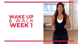 WAKE UP & Walk! Week 1 | Walk At Home YouTube Workout Series | Mini Walk & Sculpt Arms