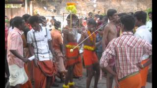 thaipusam body piercing festival in south india