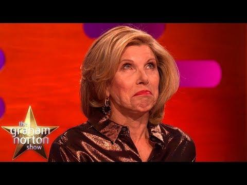 Christine Baranski Has A Strange Connection With Michael Sheen's Penis | The Graham Norton Show