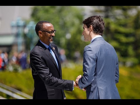 President Kagame at the G7 Summit Outreach Session