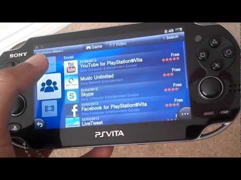 YOUTUBE APP FOR PS VITA (NO MORE DOWNLOADING)