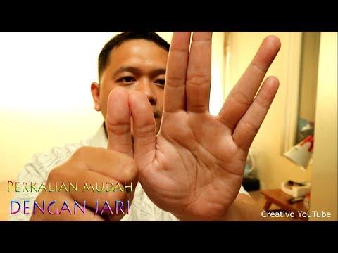 Cara Mudah Perkalian 1 Sampai 10 Menggunakan Jari Tangan