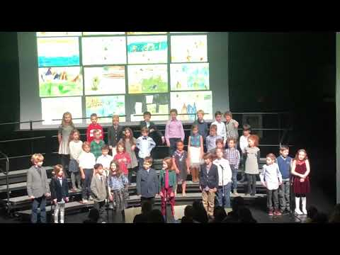 Third Graders Take The Stage at Stephen Gaynor School Winter Concert 2018
