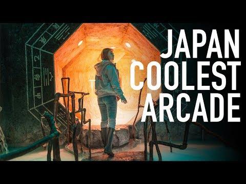 NEAR TOKYO LIES JAPAN'S COOLEST ARCADE // VLOG 001