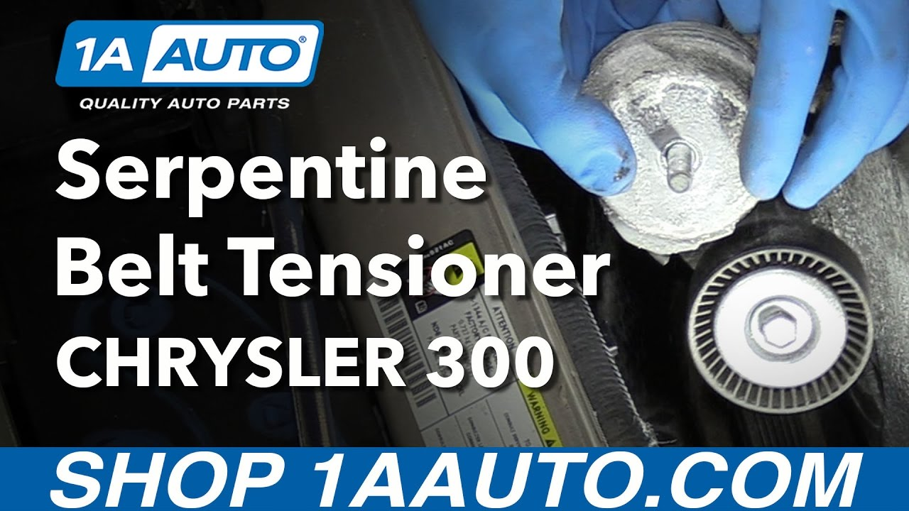 how to install replace serpentine belt tensioner 2006 3 5l v6 rh youtube com