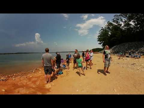 2017 Eclipse at Lake Hartwell during totality in 360°