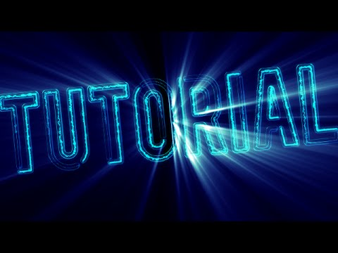 After Effects Intro Tutorial: Sci-Fi Electric Intro Animation!