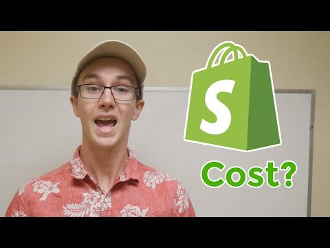 What is the Cost of Opening a Shopify Store?