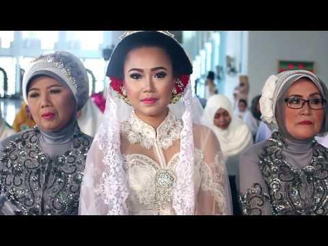 Akad Nikah Rena & Dimas Masjid Al Akbar Surabaya, 10Desember 2017