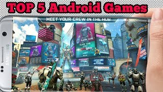 Top 5 Android Action Games 2018 (Offline & Online) Latest Android Games Top Five Best