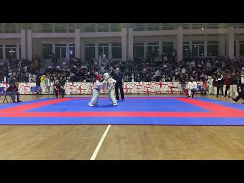 CAUCASUS CHAMPIONSHIP 2019, Grisha Kirakosyan (Armenia) Vs Saba Beraia (Georgia)