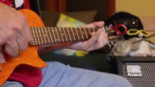 cover version of zedd s clarity vorson e uke u bass loop pedal