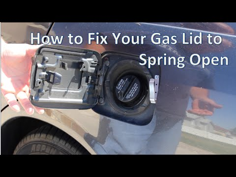 2014 Nissan Altima Fuse Box How To Make Your Gas Lid Spring Open Youtube