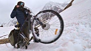 Экспедиция на Электро Велосипедах в Кавказские горы на пик Эльбруса