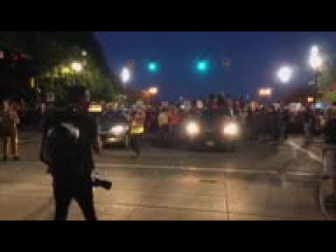 portland-protesters-chant-'black-lives-matter'