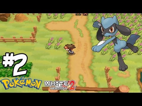 Pokemon White 2 #2 ตามจับ ริโอรุ โปเกม่อนหายาก