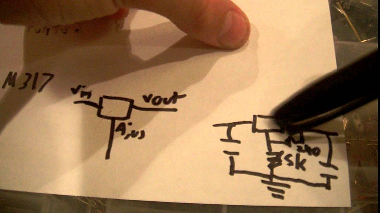 Voltage Regulator Tutorial Youtube Voltregulator Negative Fixedvoltage Circuit Diagram