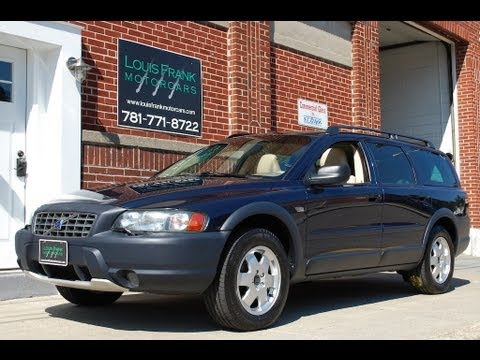 2003 volvo xc70 cross country wagon awd walk around presentation at louis frank motorcars llc. Black Bedroom Furniture Sets. Home Design Ideas