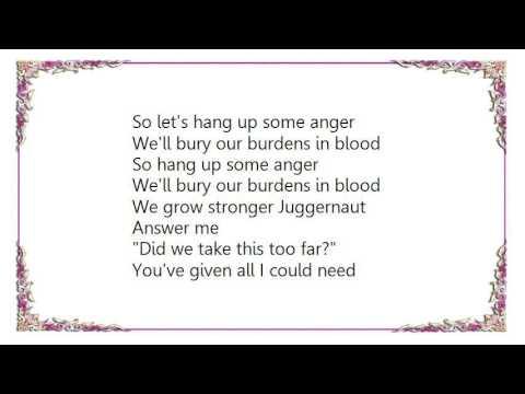 Coheed and Cambria - Here We Are Juggernaut Lyrics