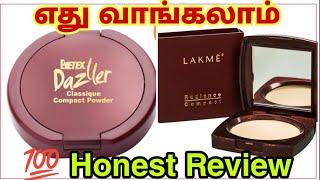 Lakme compact powder vs dazler compact | best compact power under 150|compact powder comparison