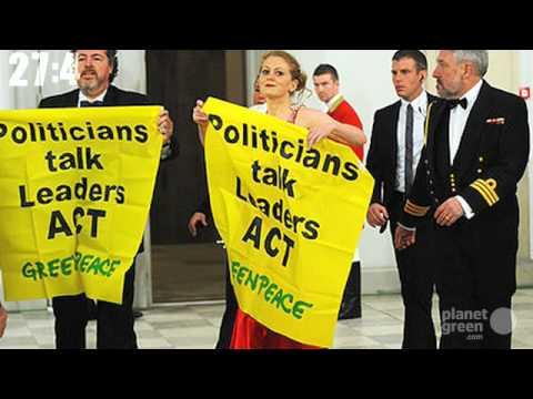 Planet 100: Copenhagen Accord, Greenpeace Arrests (12/21)