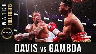 Davis vs Gamboa FULL FIGHT: December 28, 2019 - PBC on Showtime