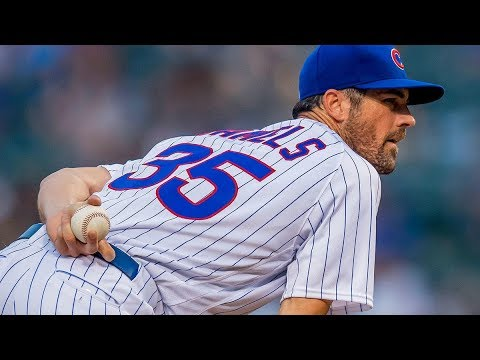 Cole Hamels 2018 Cubs Highlights