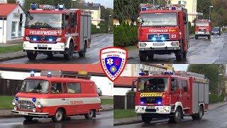 🚨 VRW + LF + TLF + RW FF Wünschendorf + MTW FF Mosen + KLF FF Zossen + HLF FF Ronneburg