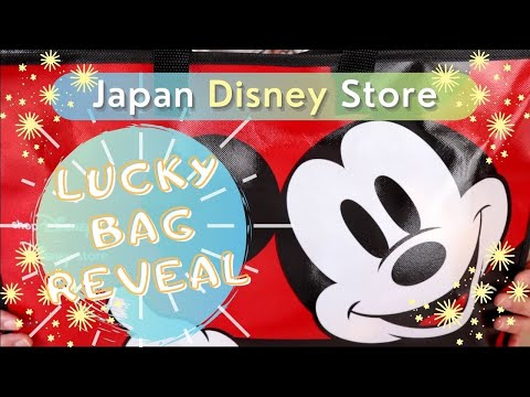 2021 Japan Disney Store Lucky Bag | Mystery Fukubukuro Unboxing