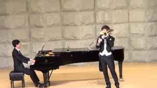Bass trombone  Jean-Baptiste Loeillet sonata