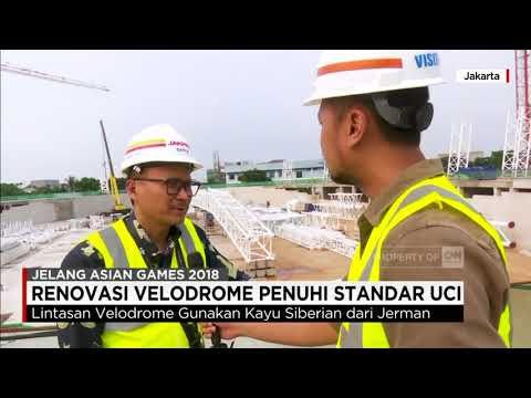 Renovasi Velodrome Penuhi Standar UCI (Union Cycliste Internationale)