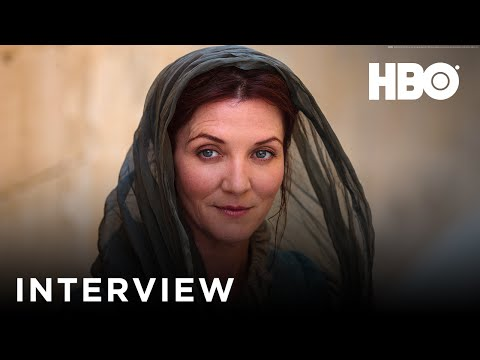Game Of Thrones   with Michelle Fairley Catelyn Stark   HBO UK