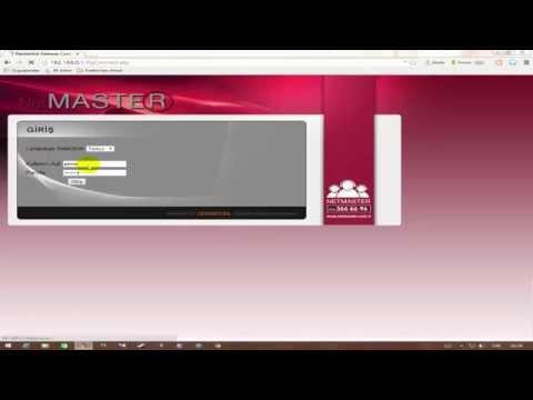 Netmaster CBW 383Z4 port açma- UYDUNET