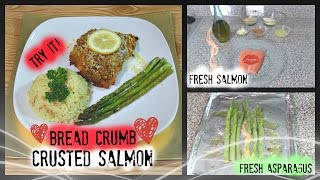 Bread Crumb Crusted Salmon |the Andreka Bryant Show S3|