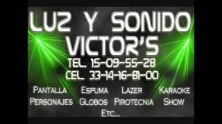 mix electronica 90s de luz y sonido victor s
