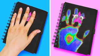Back To School Life Hacks || DIY School Supplies And Crafts Ideas