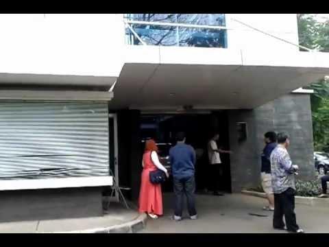 Parking structure at RSCM (Rumah Sakit Cipto Mangunkusumo) Jakarta
