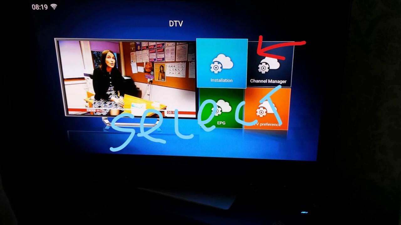 KII PRO DVB-S2 T2 Combo TV Box how to install Cccam