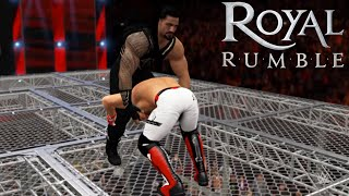 WWE-2K16 -Roman Reigns vs.A.J Style - Hell In A Cell Match- WWE World Heavyweight Championship(PS4)