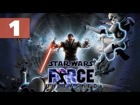 """Star Wars: The Force Unleashed - Let's Play - Part 1 - [Prologue] - """"Tossing Wookies"""" 