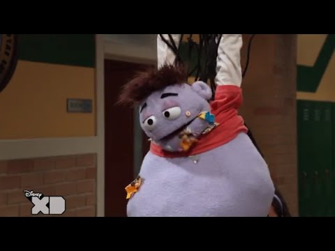 Crash and Bernstein - Health-O-Ween - Piñata Crash! - Disney XD UK HD